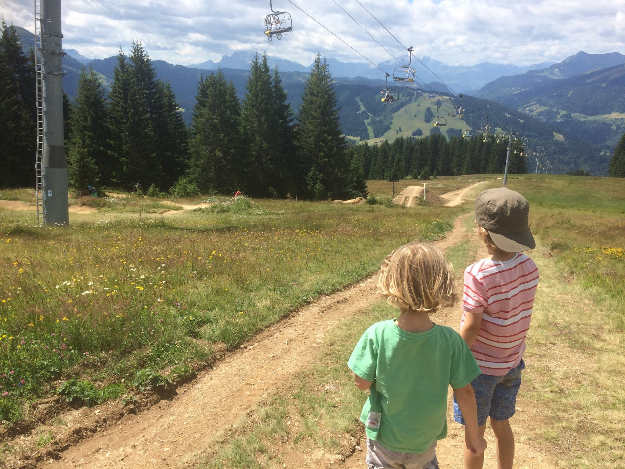 Hiking on Super Morzine